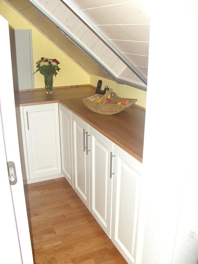 Individuelle Küche in Dachschräge